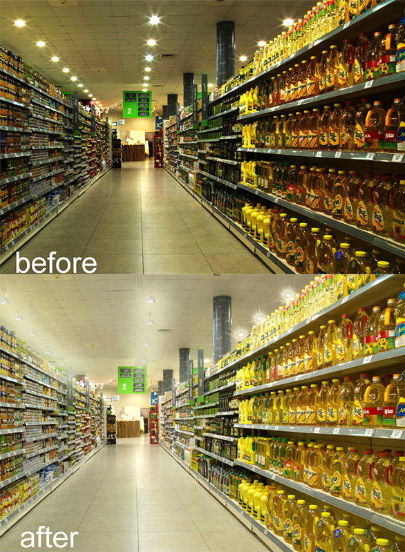New Supermarket Lication High Bay Light Agc Lighting
