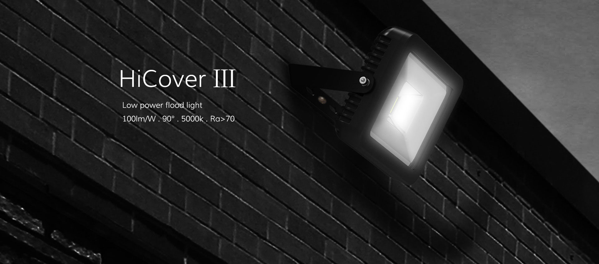 HiCover Ⅲ low power flood light