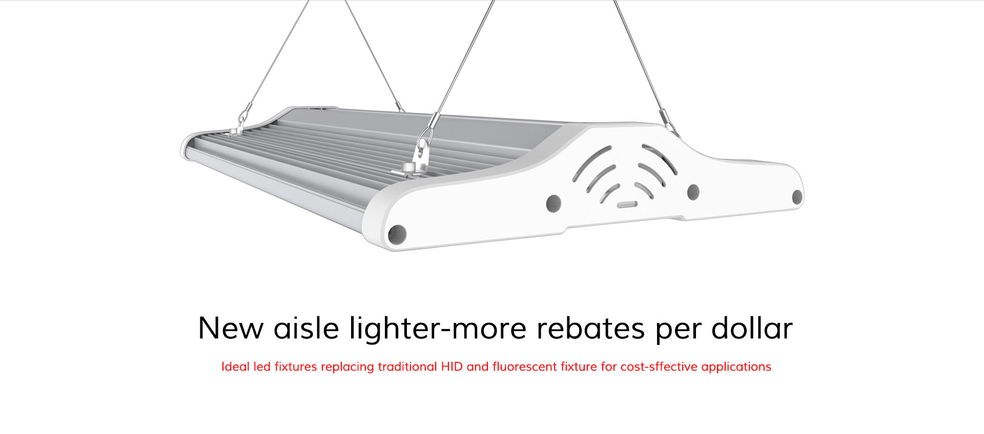 HiPanel New aisle lighter-more rebates per dollar