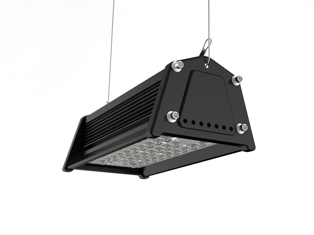 High Bay Lampen : Hirack led linear high bay light agc lighting