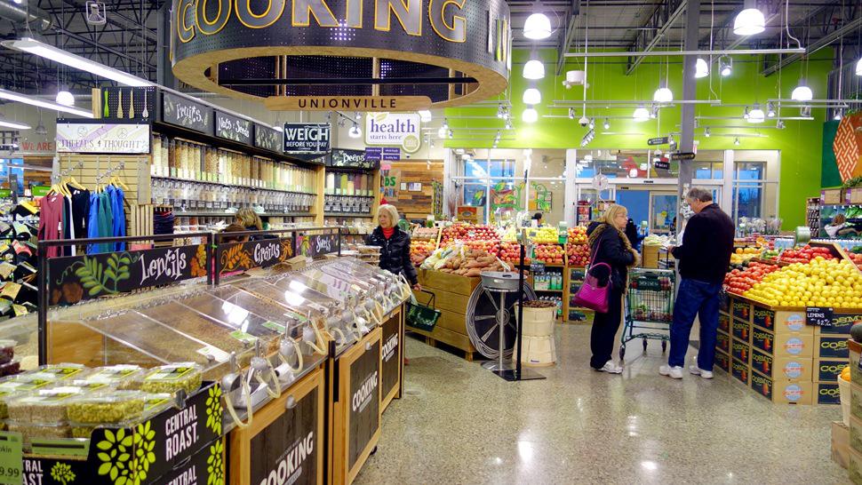 Supermarket Lighting Design With Agc High Bay Light Hiwide